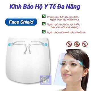 Kính che chống giọt bắn bảo hộ chống dịch tấm che trong suốt bảo vệ mắt - kinh01 thumbnail