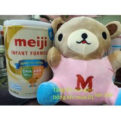 Mâũ mới -( tặng gấu) sữa meiji nhập khẩu 0 800g