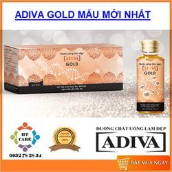 COLLAGEN ADIVA GOLD NEW - HỘP 14 LỌ