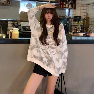 FREESHIP cb live Trang phục thu đông áo len cỗ tròn nhung dày rộng rãi - RiU14J thumbnail