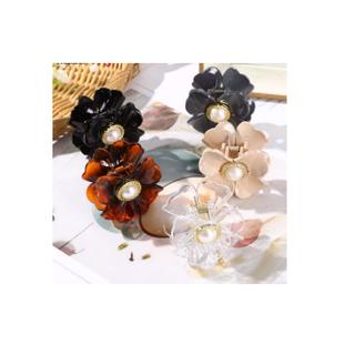 Kẹp Tóc Hình Hoa Kẹp Tóc Thời Trang Hàn Quốc Cho Nữ Phụ Kiện Tóc - PK005 thumbnail