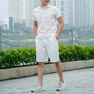 Bộ quần áo nam chất vải đũi xước - 659_45010510 thumbnail