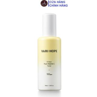 Nước Hoa Hồng Làm Sáng Da VariHope 8 Days Pure Vitamin C Toner 100ml - Toner Varihope 100ml thumbnail