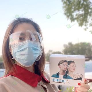 Kính Bảo Hộ Face Shield Chống Dịch, Chống Giọt Bắn - KÍNH XỊN1 thumbnail