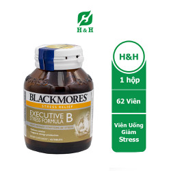 Viên uống Blackmores Executive B Stress Formula, Giảm căng thẳng thần kinh, giữ tinh thần thoải mái - 1 lọ/62 viên