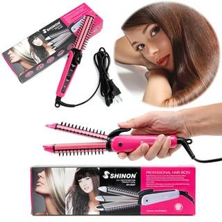 Máy tạo kiểu tóc 3in1 Shinon MODEL 8097 - Máy uốn tóc, duỗi tóc, dập xù tóc đa năng 3 trong 1 - Máy tạo kiểu tóc 3in1 Shinon MODEL 8097 thumbnail