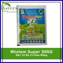 Chế Phẩm Trừ Sâu Sinh Học Rholam Super 50SG trừ bọ trĩ hoa hồng và các loại sâu hại khác - Gói 5gam