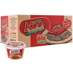 Thùng 12 tô mì trộn Cung Đình Kool Spaghetti 105g