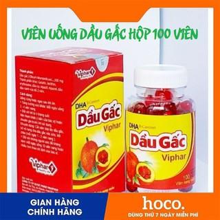 Dầu gấc DHA Viphar sáng mắt đẹp da - Hộp 100 viên - DG01 thumbnail