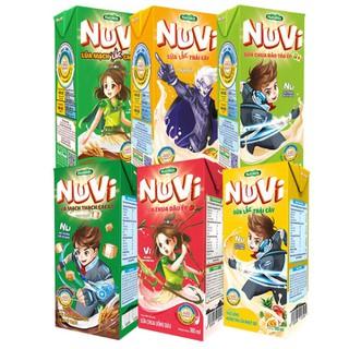 [BÉ KHỎE BÉ ĐẸP] Combo 6 hộp Sữa Nuvi hương vị ca cao lúa mạch, trái cây nhiệt đới thơm ngon cho bé Cao lớn thật ngầu, thông minh cực đỉnh 180ml - Thương Hiệu NUTIFOOD - YOOSOO KIDS - MB_CB6_SUACHUAUONGMIX180_01 thumbnail