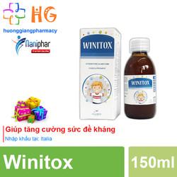 Winitox - Hỗ trợ hệ miễn dịch, tăng sức đề kháng cho trẻ (Chai 150ml)