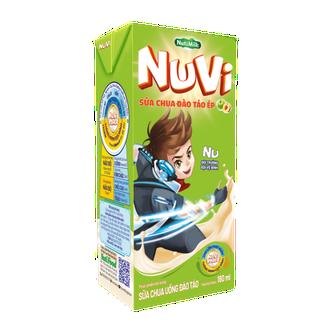 [BÉ KHỎE BÉ ĐẸP] Nuvi Sữa chua uống đào táo 180ml - Thương Hiệu NUTIFOOD - YOOSOO KIDS - MB_SUACHUADAOTAO180_01 thumbnail
