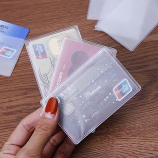 Lẻ 1 vỏ bọc thẻ căn cước, thẻ sinh viên, thẻ ngân hàng,,, bằng nhựa dẻo trong suốt - SP000229 thumbnail