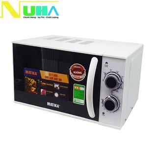 Lò vi sóng 20L Matika MTK-9220 có 3 chức năng Nướng, hâm nóng, rã đông thức ăn tự cài đặt theo trọng lượng - MTK9220 thumbnail