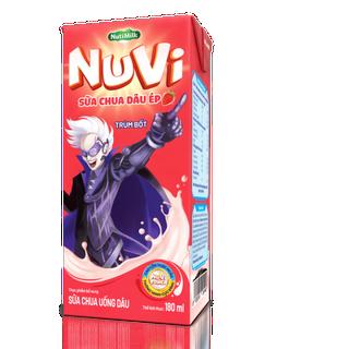 [BÉ KHỎE BÉ ĐẸP] Nuvi Sữa chua uống Dâu Ép 180ml - Thương Hiệu NUTIFOOD - YOOSOO KIDS - MB_SUACHUADAUEP180_01 thumbnail
