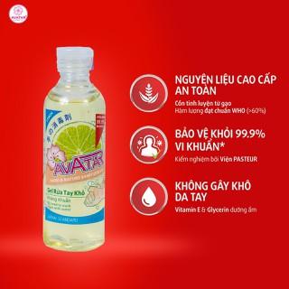 Gel rửa tay khô AVATAR hương chanh diệt khuẩn 100ml - RUATAYCHANH_100ML thumbnail