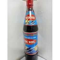 Nước mắm NHỈ cá cơm truyền thống - CỐT Y LOẠI NGON  - Chai 650ml