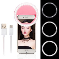 Đèn Led Selfie Ring Light Gắn Điện Thoại Chụp Hình Tự Sướng