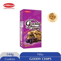 Bánh quy hạt Chocolate Goody Chips 144gr - HSD 25/8/2021