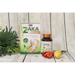 Sản phẩm giảm cân Zaka Slim chĩnh hãng hộp 60 viên uống hỗ trợ giảm cân cho người béo lâu năm -Health Pharmacy