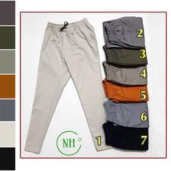 Quần kaki nam lưng thun cao cấp, quần BIG SIZE đến gần 100kg NHIỀU MÀU - NH shop