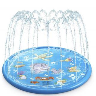 bể bơi phun nước cho bé vui chơi thích thú trong thời tiết mùa hè, phao phun nước trẻ em món quà ý nghĩa, thảm chơi nước - PPNT170 thumbnail