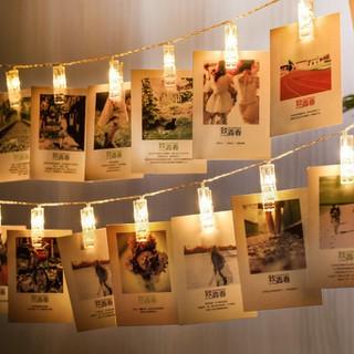 Dây đèn led kẹp ảnh trang trí tường trang trí nhà cửa SIMPLISM HomeDecor - DDTT thumbnail
