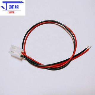 Dây Đỏ Đen 2P XH2.54-2P 15CM - dây đỏ đen thumbnail