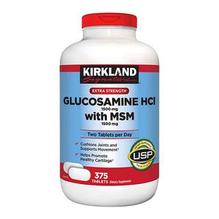 [Có sẵn] [Chính hãng] Viên Uống Bổ Khớp Kirkland Glucosamine MSM 1500mg [375 viên] - PVN674 thumbnail
