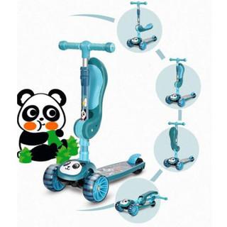xe trượt scooter có ghế xinh xinh trượt chân cho bé - XTSGT thumbnail