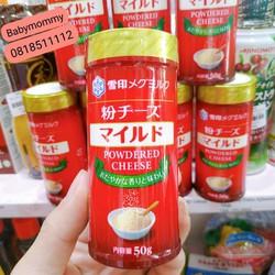 Pho mai rắc dạng bột Meg Snow 50g, Nhật