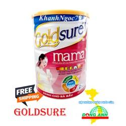SỮA CHO BÀ BẦU GOLDSURE MAMA LON 900G DATE MỚI