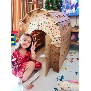 Nhà Lắp Ghép Thông Minh Nhà Giấy Carton Lắp Ráp Cho Bé - 1488_45210907 thumbnail