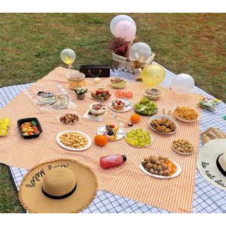 Khăn trải bàn, khăn dã ngoại caro vintage - Khăn trải bàn, khăn dã ngoại caro vintage thumbnail