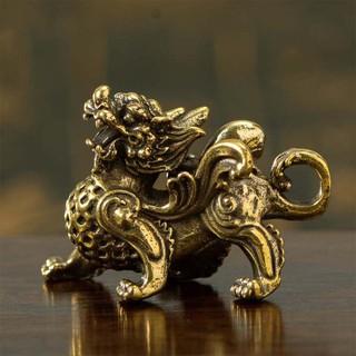 Tượng đồng mini phong thủy tỳ hưu tượng đồng kỳ lân vật phẩm phong thủy - TTPKTuongDongMini thumbnail