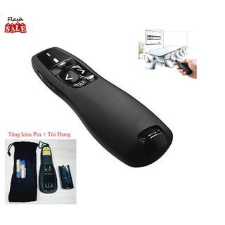 Bút Chỉ Trình Chiếu Slide PowerPoint Laser 2.4G model R400 Bút Chỉ Máy Chiếu Nhạy, Độ Bền Cao- Hàng tốt Tặng kèm Pin - Bút Chỉ Trình Chiếu Slide PowerPoint Laser thumbnail