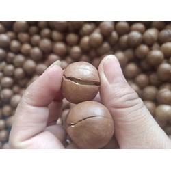Hạt Mắc ca nứt Dak Lak loại size lớn - 500gr - hinh thật