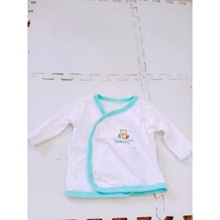 Combo 3 áo lẻ dài nút bên hong sơ sinh bé gái - cinbedaiho g thumbnail