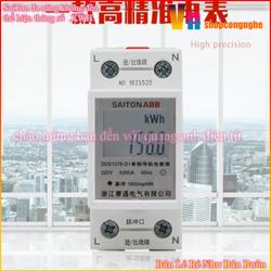Công tơ điện tử thiết bị đo công suất SAITON ABB 65A - ABB65A Hiện thị kWh