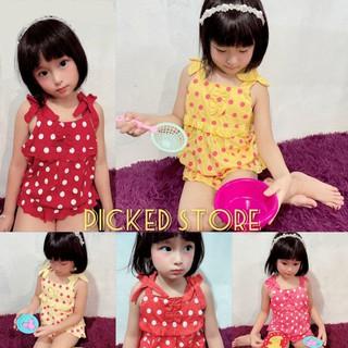 Áo bé gái áo hai dây cotton cho bé chấm bi nơ bo chun xinh sắn cute - 1uqjxsmisPPBQCdRs0HKkd thumbnail
