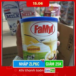 Lon 1Kg Sữa Đặc Famyl Malaysia nhập khẩu - Date 28/7/2022