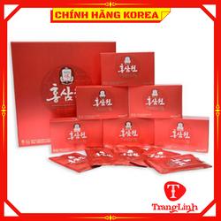 Nước hồng sâm Won Kgc Cheong Kwan Jang thượng hạng, hộp 30 gói - Tăng đề kháng, chống lão hóa, phòng ung thư, tranglinh