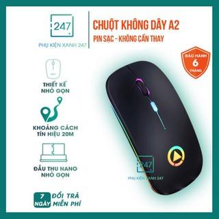 [NHẬP SPHUKCNX99 GIẢM 10K] Chuột không dây Pin Sạc - Chuột không dây Pin Sạc - 062 thumbnail