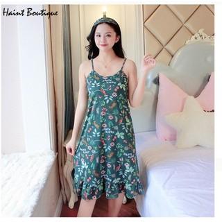 Váy mặc nhà, váy 2 dây Haint Boutique thiết kế mặc thoải mái, mát mẻ Vn40 - vn40 thumbnail