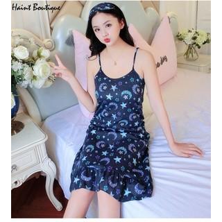 Váy 2 dây, váy mặc nhà Haint Boutique họa tiết hình sao Vn39 - vn39 thumbnail
