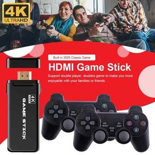 Máy chơi gamer 4 nút Game Stick PS3500 4K Ultra Hd Kết nối HDMI, MÁY GAME 2 CẦM TAY CÓ KẾT NÔI TIVI - Máy chơi game 3000 xanh thumbnail