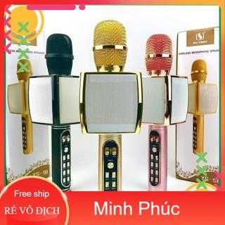 Micro Karaoke YS-91 hàng loại 1, Mic hát karaoke bluetooth hỗ trợ ghi âm thẻ nhớ, USB - Tainghetomi - YS-91 thumbnail