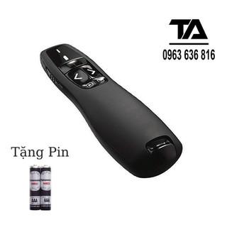 [ FREESHIP ] Bút Chỉ Trình Chiếu Slide PowerPoint Laser 2.4G model R400 - Hàng Tốt - 3297_45317614 thumbnail