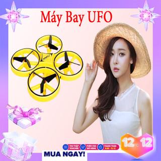 Máy Bay Fly Cam Drone UFO Máy Bay Cảm Ứng , Máy Bay Phản Lực, Điều Khiển Cảm Biến Cử Chỉ Tay, Tự Động Tránh Vật Cản, Nhào Lộn 360 Độ,Máy Bay Điều Khiển Từ Xa,Máy Bay Điều Khiển Từ Xa 4 Cánh. Có Đèn. Dễ Dàng Sử Dụng - UFO001 thumbnail