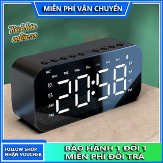 Loa bluetooth Zxl P6, loa tích hợp đo nhiệt độ, đồng hồ báo thức, hiển thị thời gian, loa không dây bluetooth 5.0, loa bluetooth mini hỗ trợ thẻ nhớ, đài Fm - Loa bluetooth Zxl P6 thumbnail
